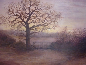Trudy Hulmston, Winter Sunrise