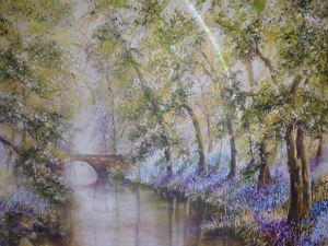 Barbara Dunne, Canal near Wrenbury Mill
