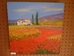 Jean Knight, Poppies in Tuscany