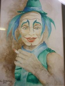 Lyn Critchley, Cirque Du Soleil, Off Duty