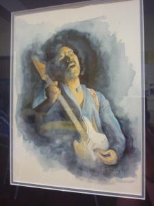 Lyn Critchley, Jimi Hendrix