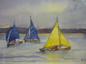 Olive Costain, Yachts at West Kirby