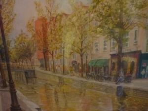 Shirley Halsall, Amsterdam