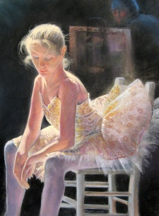 ballet danncer dennis oakes painting