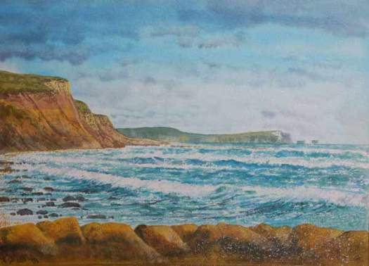 Hordle Cliffs and the Needles